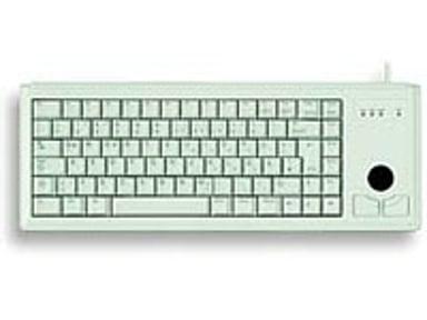 Cherry Compact-Keyboard G84-4400 - tastatur Kablet Engelsk Grå