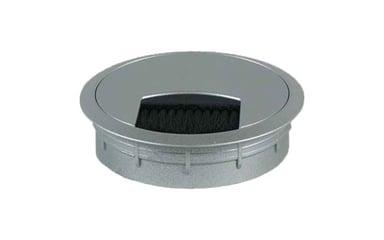 Götessons Kabelgjennomføring Med Børste 79 mm Sølv