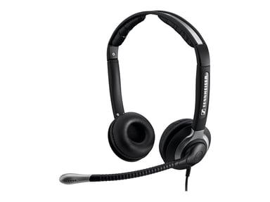 EPOS   SENNHEISER CC550 IP-Headset Easy Disconnect Musta