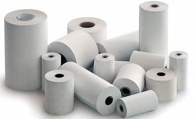 Generic Receipt Paper 80/80/12-80m 100% Bisfenol Free, 50-Pack null