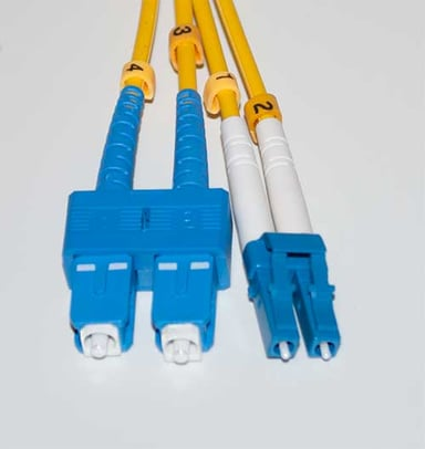Direktronik Optisk fiberkabel SC/UPC LC/UPC OS2 1m 1m