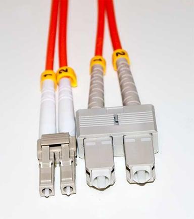 Direktronik Optisk fiberkabel LC/UPC SC/UPC OM3 2m 2m