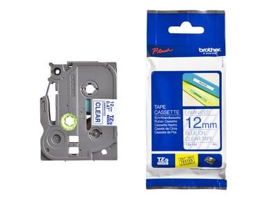 Brother Tape TZe-133 12mm Blue/Transparent