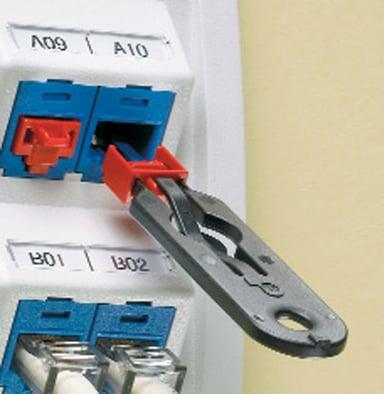 Direktronik Smart RJ45-lås 10-pack