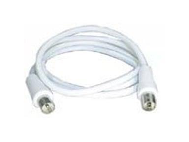 Deltaco Antennkabel 3m IEC-kontakt Hane IEC-kontakt Hona