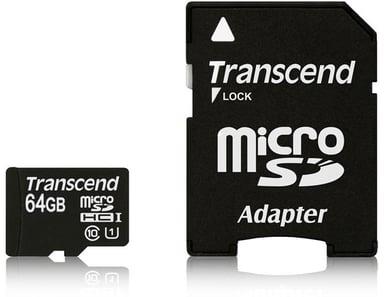 Transcend Ts64gusdu1 64GB SDXC UHS-I Memory Card