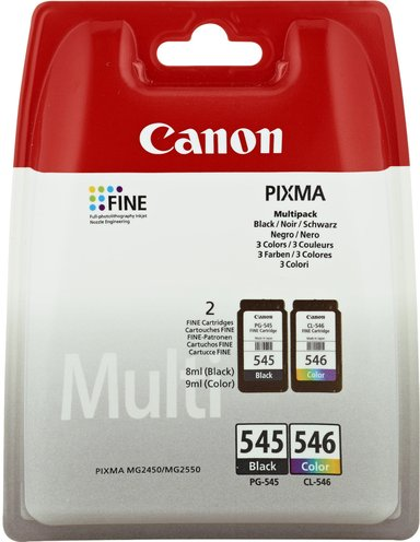 Canon Inkt Multipack PG-545/CL-546 - MG2550