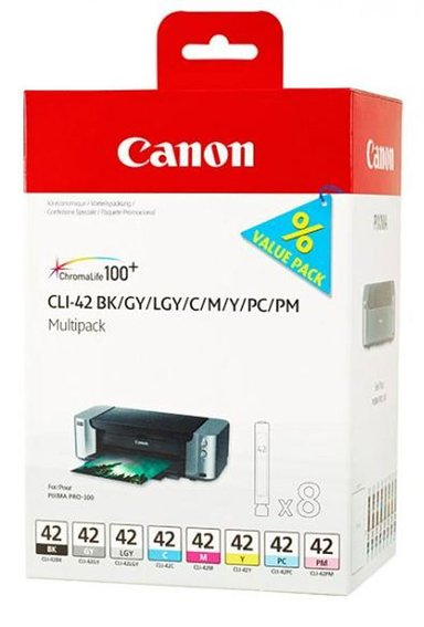 Canon Bläck Multipack CLI-42 (8-Colors)