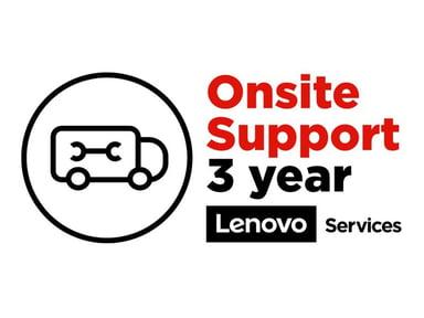 Lenovo Uppgradering till 3-års On-site NBD från 1-års Depot/CCI