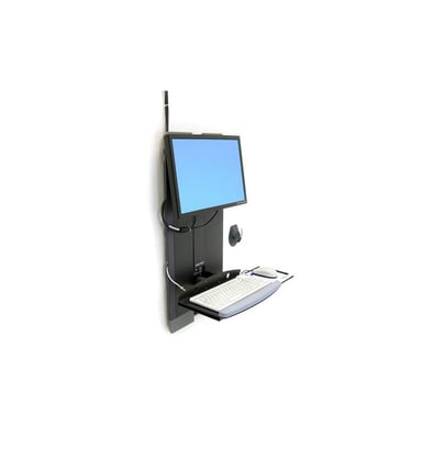 Ergotron StyleView Vertical Lift High Traffic Areas