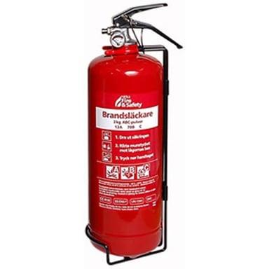 Nexa Fire-Extinguisher 2kg ABC-Powder Wall Mount null