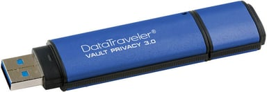 Kingston Datatraveler Vault Privacy 3.0 8GB USB 3.0 AES 256 bittiä