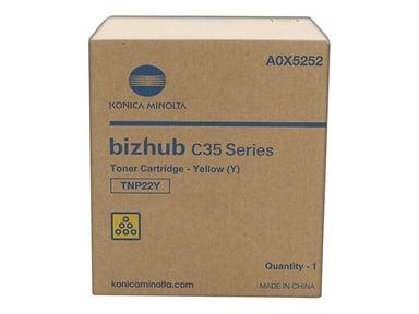 Konica Minolta Toner Gul TNP-22Y 6k - BIZHUB C35