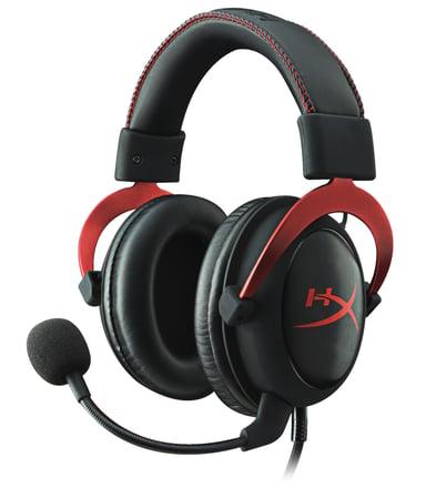 Kingston HyperX Cloud II Musta Punainen