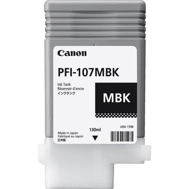 Canon Blæk Matt Sort PFI-107MBK
