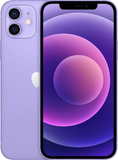 Apple iPhone 12 64GB Violetti