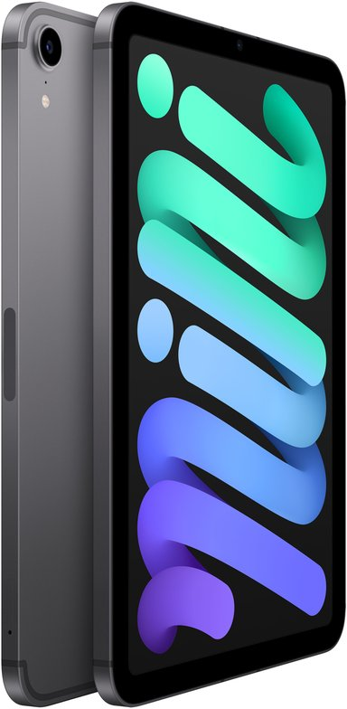 """Apple iPad mini Wi-Fi + Cellular 8.3"""" A15 Bionic 64GB Romgrå"""