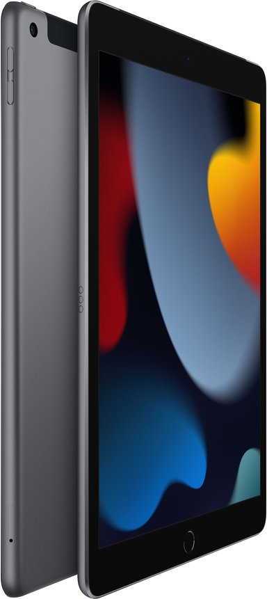 "Apple iPad 9th (2021) Wi-Fi + Cellular 10.2"" A13 Bionic 256GB Avaruuden harmaa"