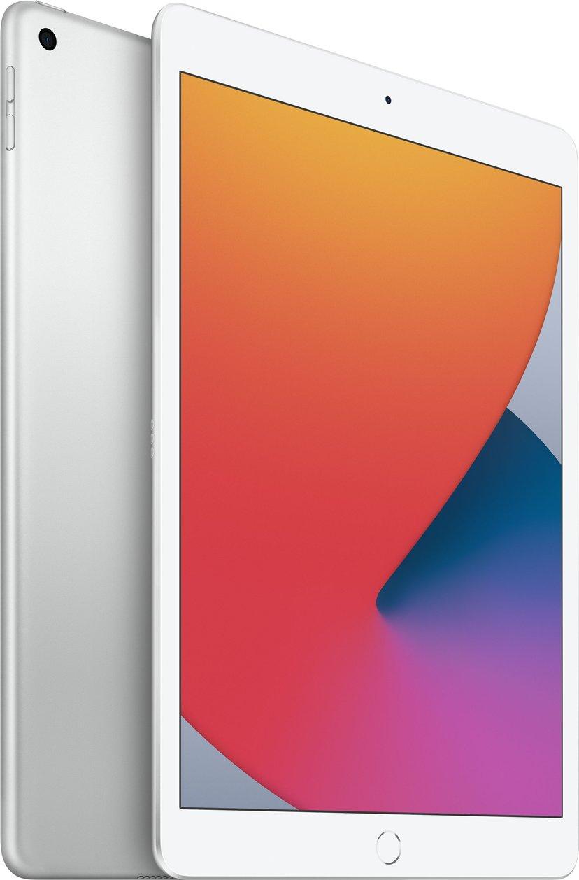 """Apple iPad 8th gen (2020) Wi-Fi 10.2"""" A12 Bionic 32GB Sølv"""