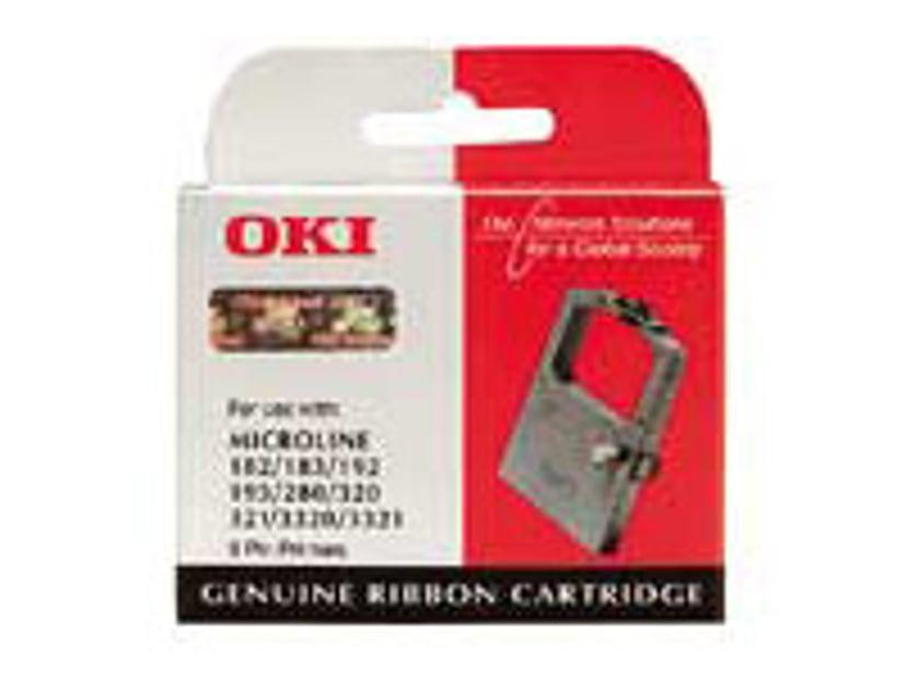 OKI Färgband Svart Microline 280/320E/321E/332X