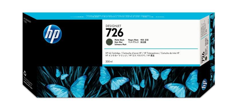HP Bläck Matt Svart No.726 300ml
