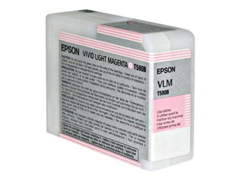 Epson Bläck Vivid Ljus Magenta T580B - PRO 3880