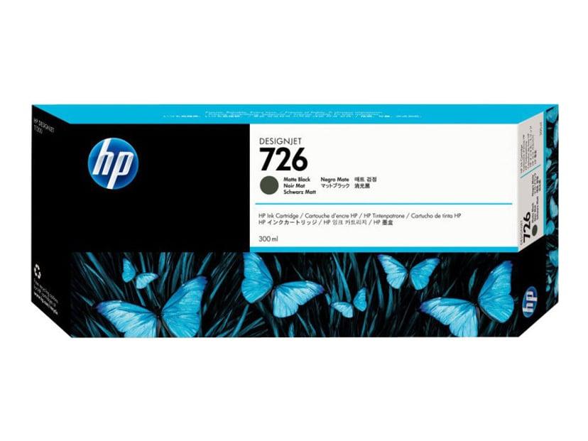 HP Blekk Matt Svart No.726 300ml
