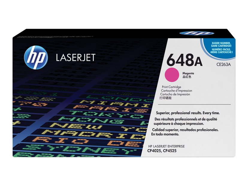 HP Toner Magenta 648A 11K - CE263A