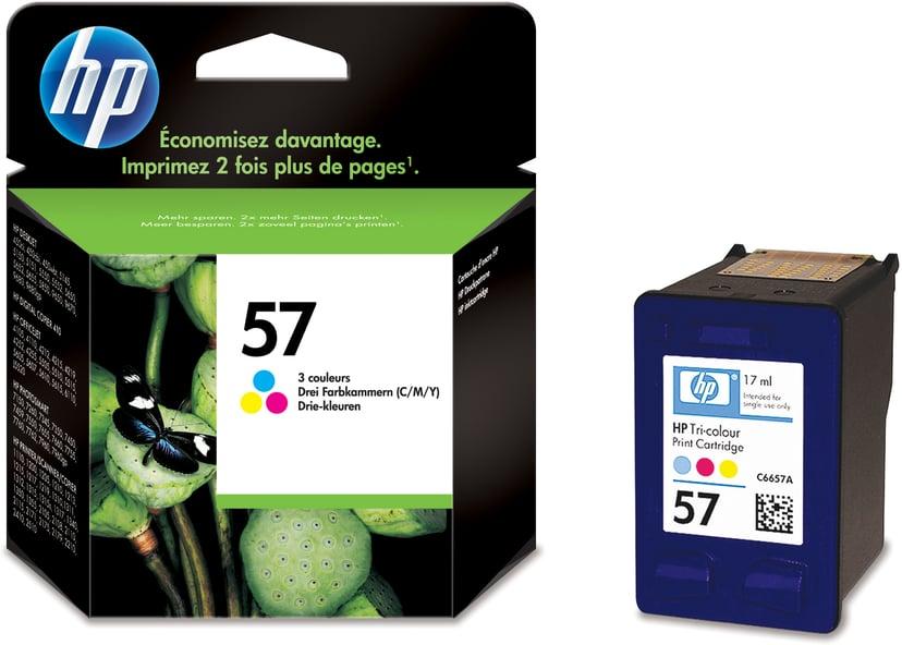 HP Blekk Farge No.57, DJ 5550/P100/7350