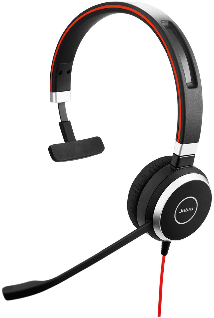 Jabra Evolve 40 Mono - Endast Headset Svart