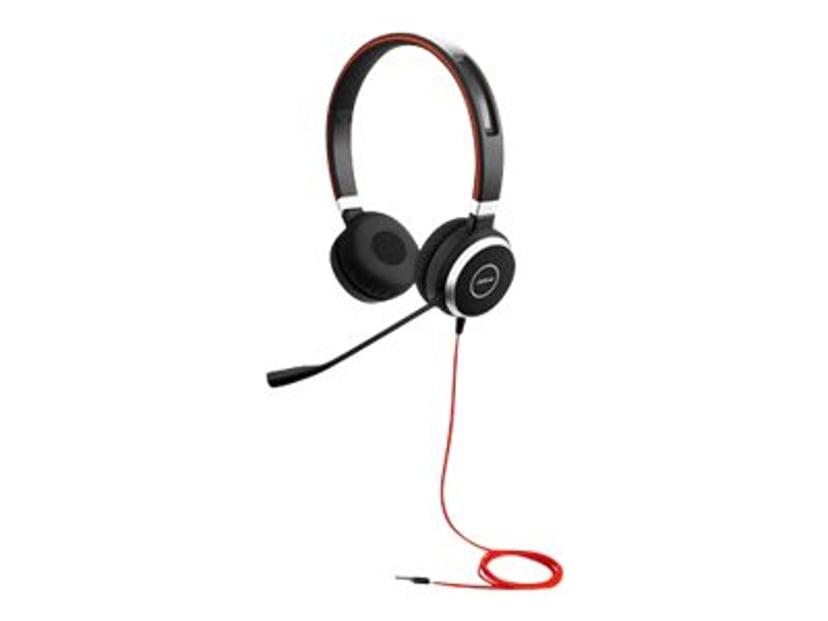 Jabra Evolve 40 Stereo Musta