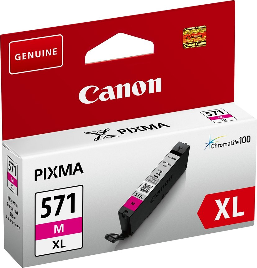 Canon Blekk Magenta CLI-571M XL