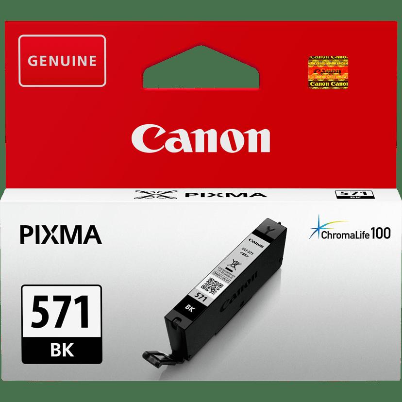 Canon Blekk Svart CLI-571BK