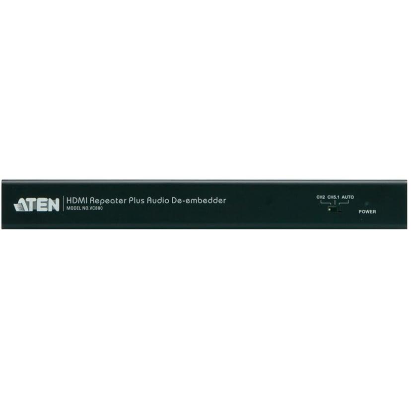 Aten VanCryst VC880 HDMI Repeater Plus Audio De-embedder