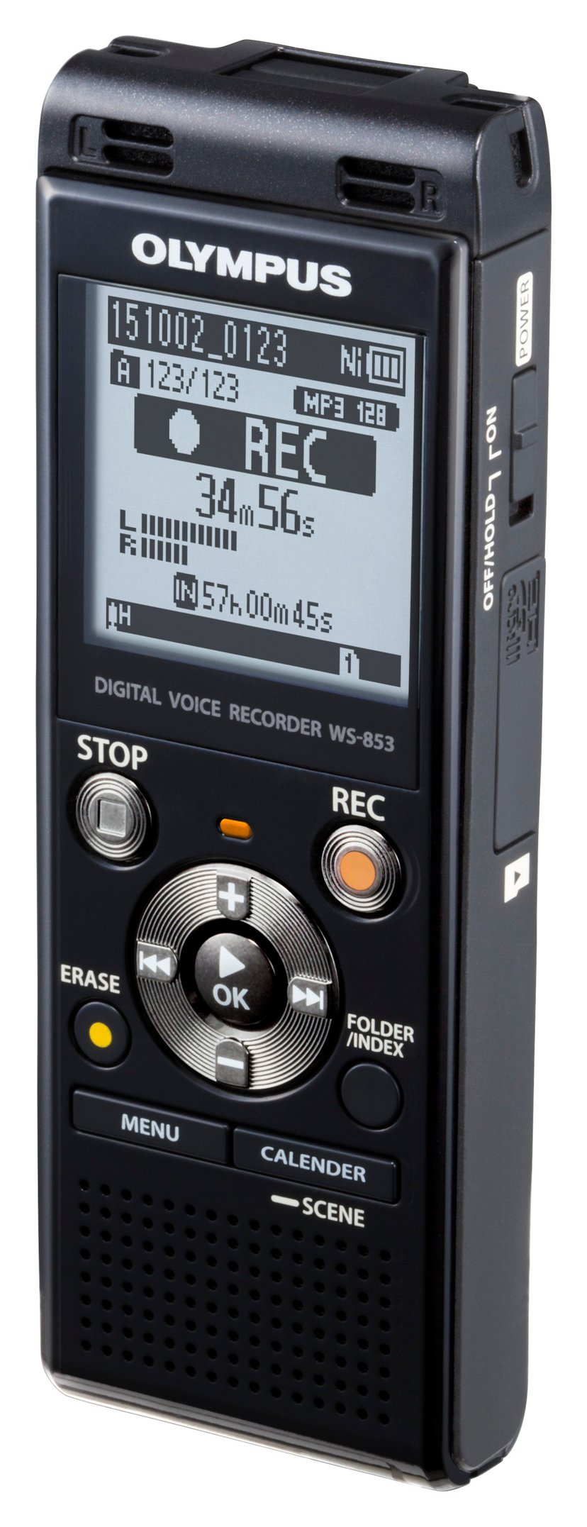 Olympus Diktafon WS-853 Sort (8GB)