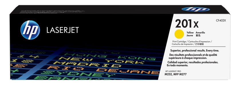 HP Toner Gul 201X 2.3K - CF402X  #ATTACH
