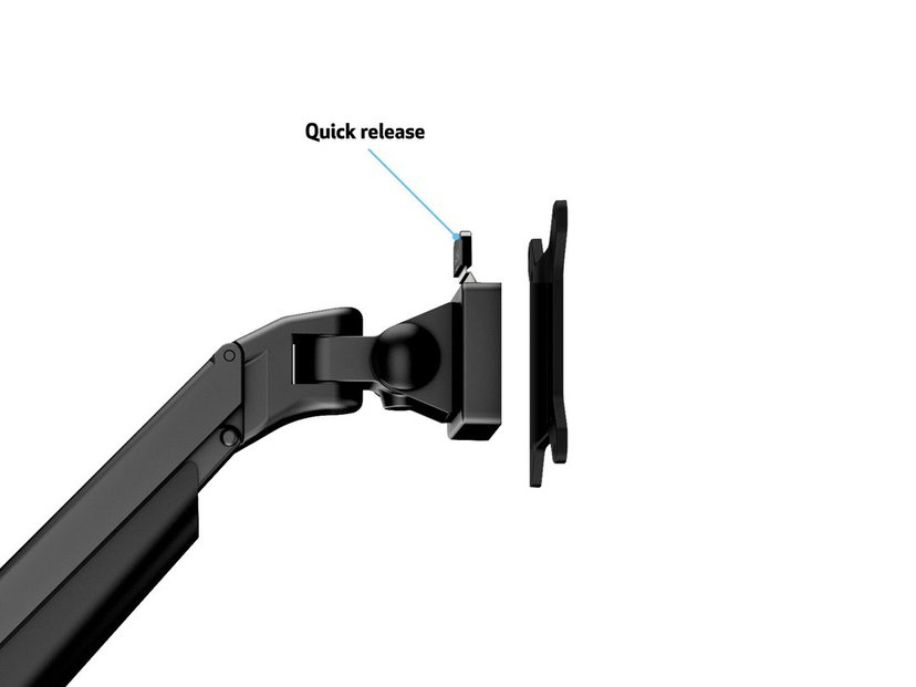 Multibrackets M VESA Gas Lift Arm Quad