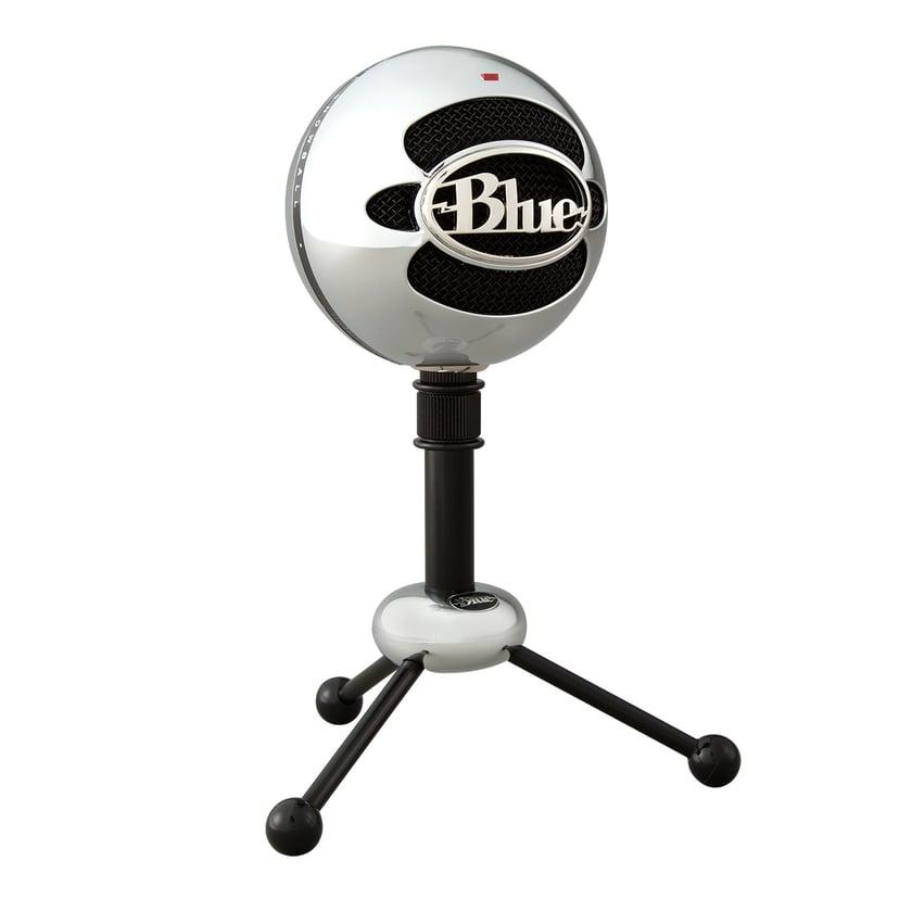Blue Microphones Snowball Svart, Sølv