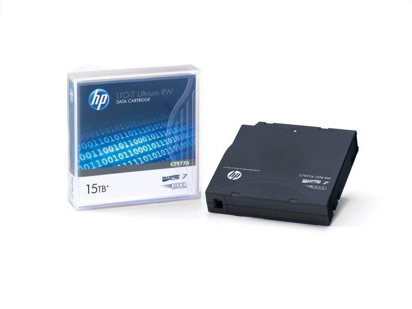 HPE HPE Ultrium Non-Custom Labeled Data Cartridge LTO Ultrium 15TB 20st