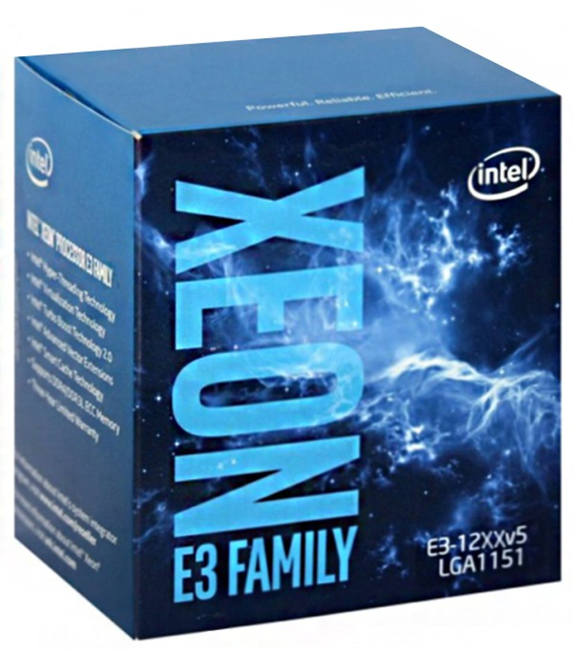 Intel Xeon E3-1270V5 / 3.6 GHz processor