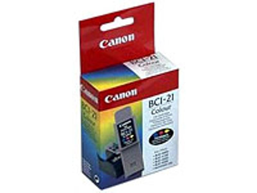 Canon Blekk Farge BCI-21C BJC 4000/4100/4200