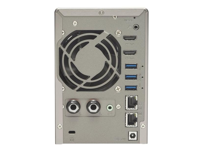 QNAP Ts-253A 8GB RAM 0TB NAS-server