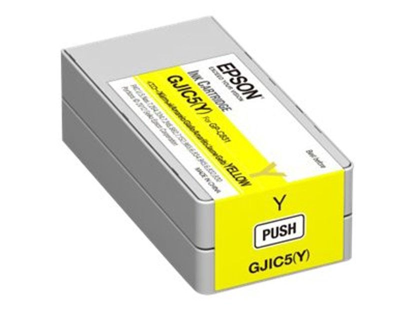 Epson Bläck Gul GJIC5(Y) - GP-C831