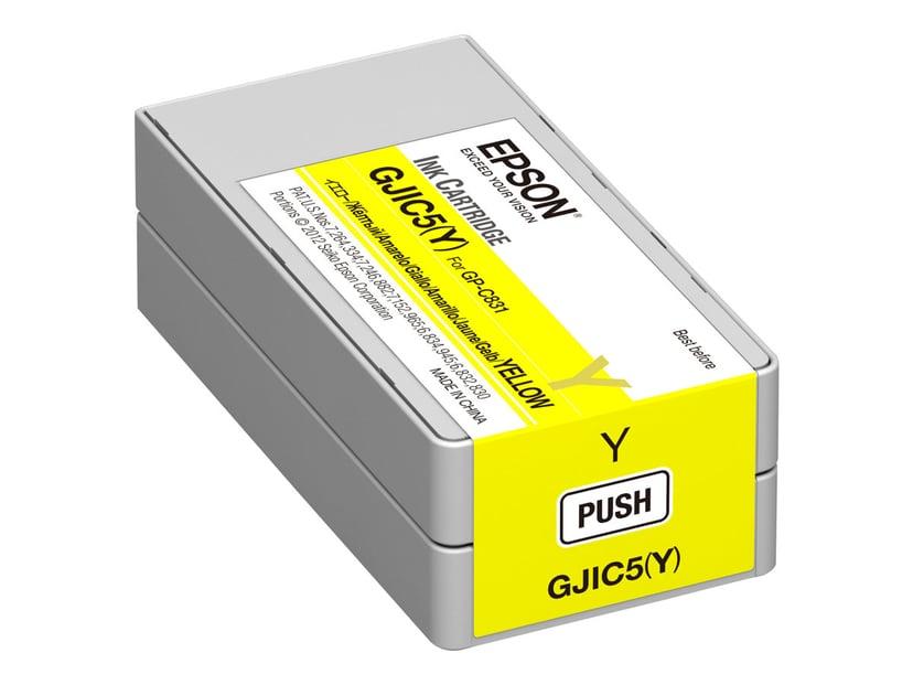 Epson Blekk Gul GJIC5(Y) - GP-C831
