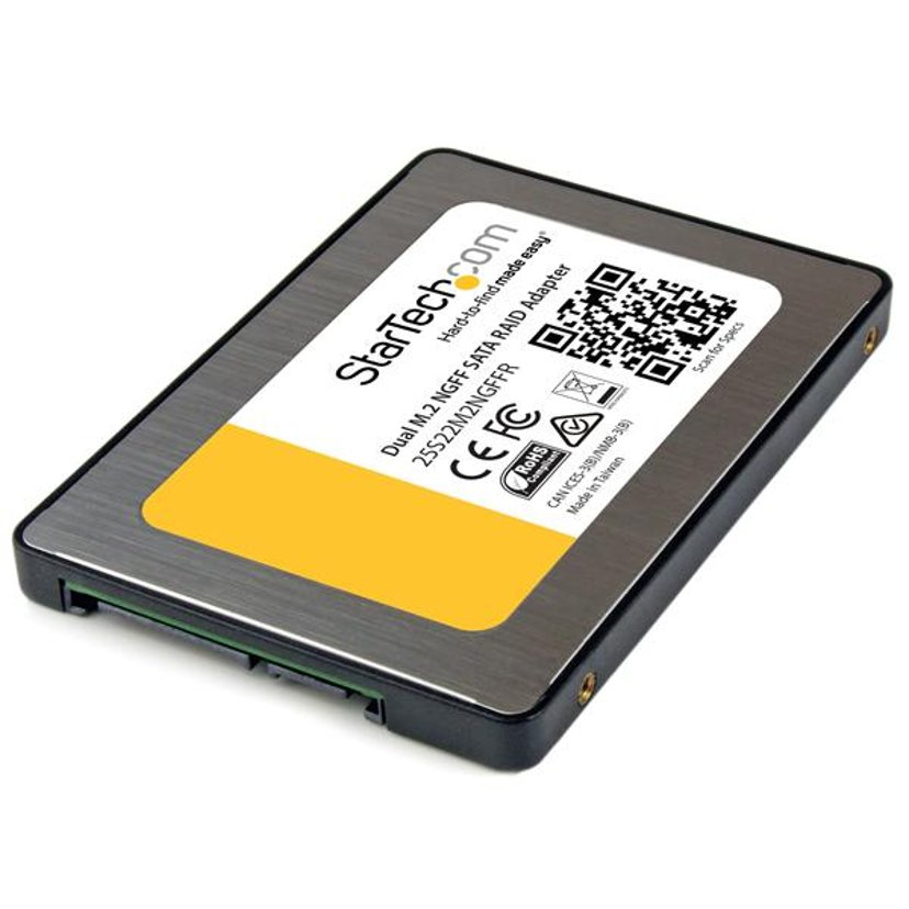 "Startech Dual M.2 SSD TO 2.5"" SATA 7MM"