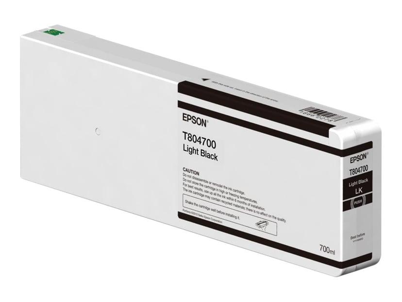 Epson Bläck Ljus Svart 700ml - P6/7/8/9000