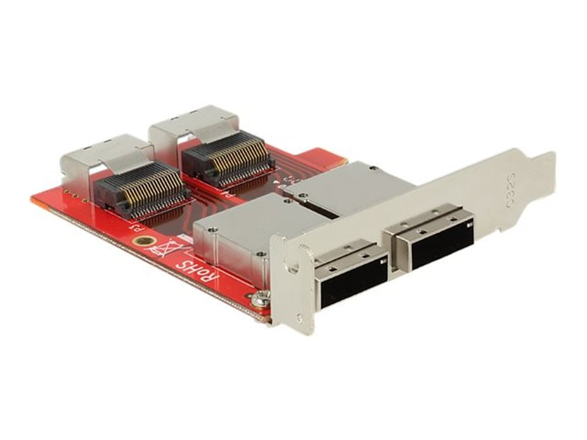 Delock SAS intern till extern adapter