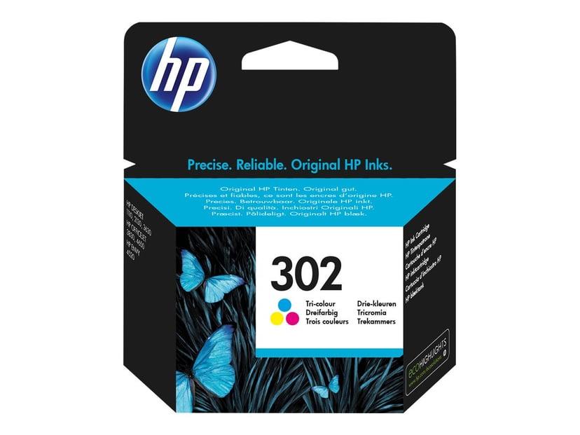 HP Blekk Farge No.302 - DJ 1110