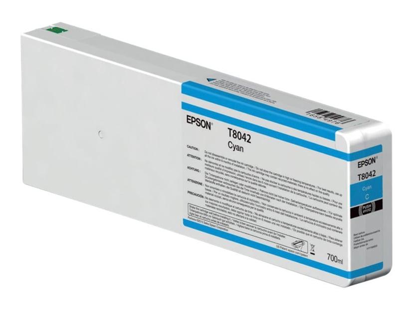 Epson Blekk Cyan 700ml - P6/7/8/9000