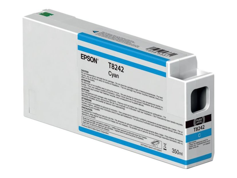 Epson Blekk Cyan 350ml - P6/7/8/9000